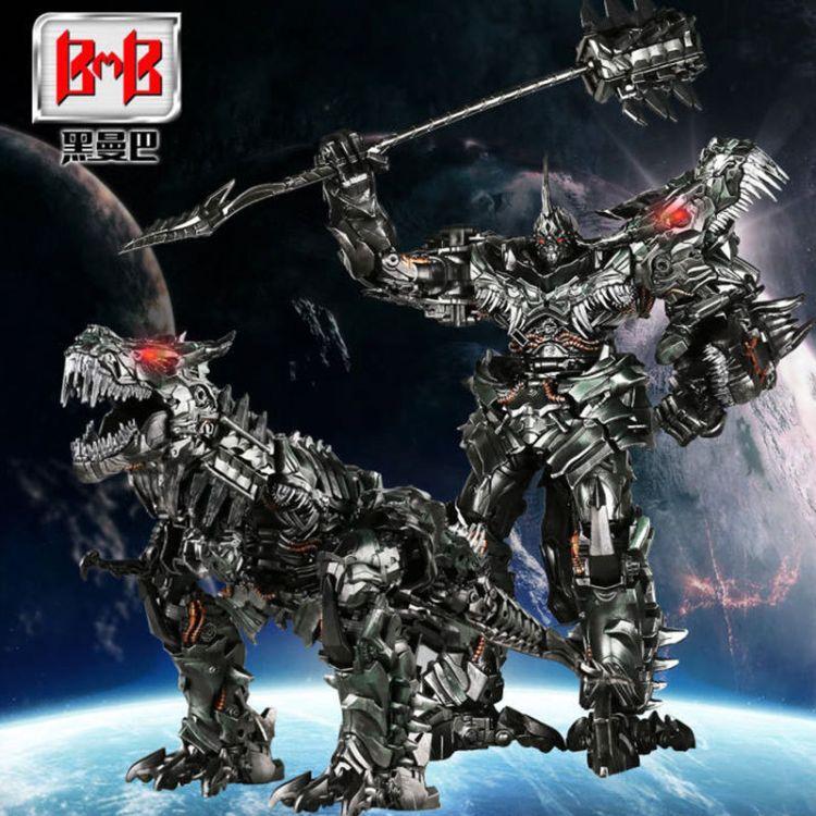 LS05黑曼巴钢索电影版机器恐龙黑暗领主霸天虎霸王龙现货秒发变形