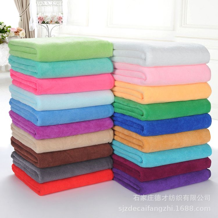 晋州 厂家直销 涤锦超细纤维毛巾布 300g 400g各种颜色 色布
