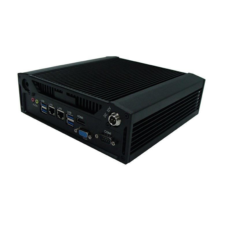 10串口宽温嵌入式无风扇工控机 IPC系列上架机箱