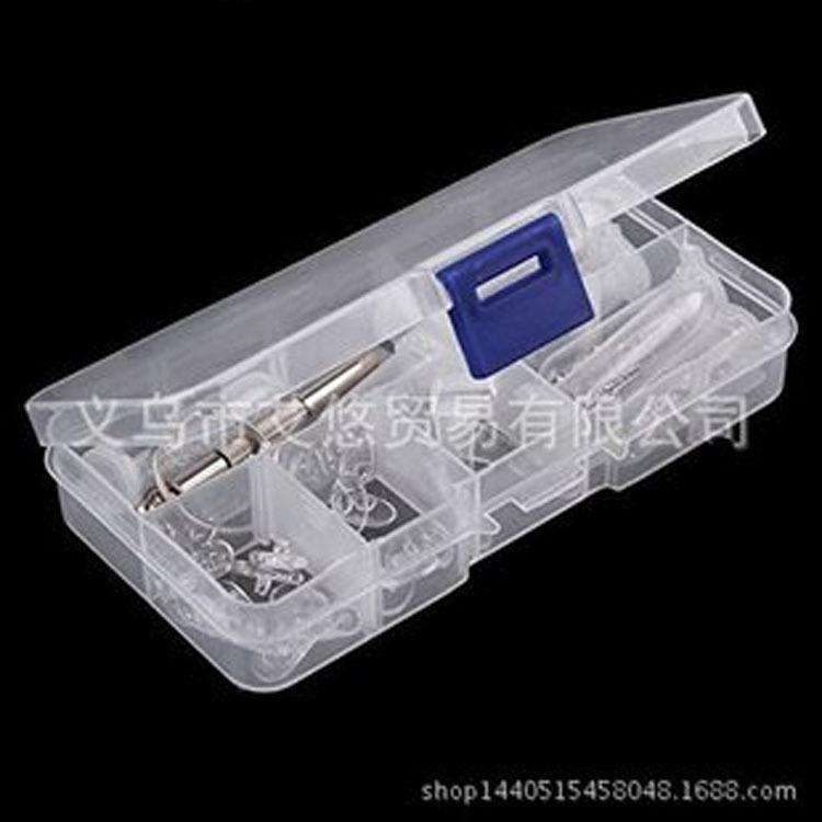 太阳眼镜镜片眼镜 修复  螺丝 硅胶鼻托 耳勾套 塑料盒批发 ZH001