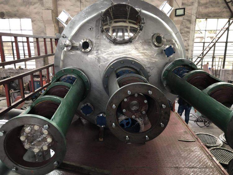 厂家生产反应釜 不锈钢对焊法兰式不锈钢反应釜