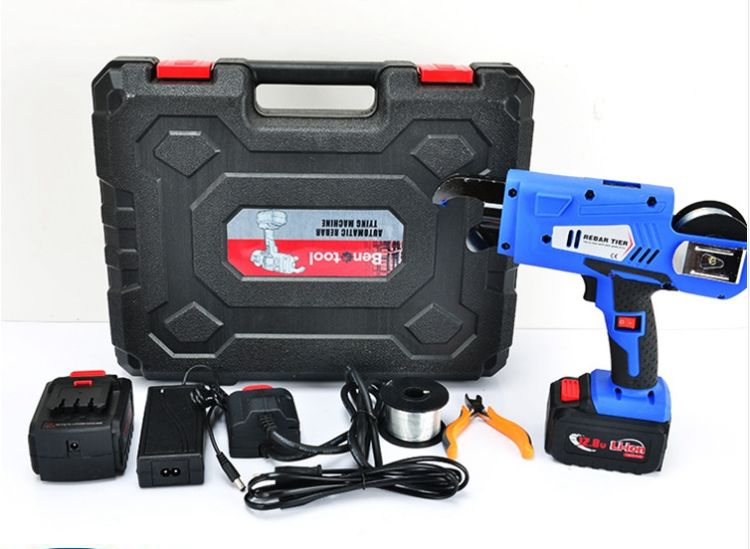 全自动钢筋捆扎机充电式电动扎丝机绑钢筋机厂家正品直销