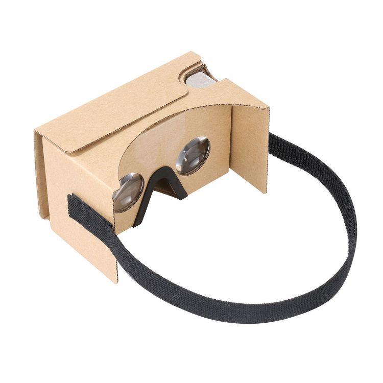 Google cardboard V2 谷歌二代 vr眼镜 vr纸盒二代配泡绵鼻垫头带