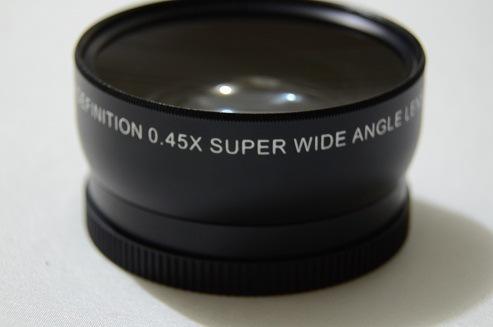0.45X 0.45倍55MM广角镜头MACRO  UV口径62MM附加镜头厂家可看厂