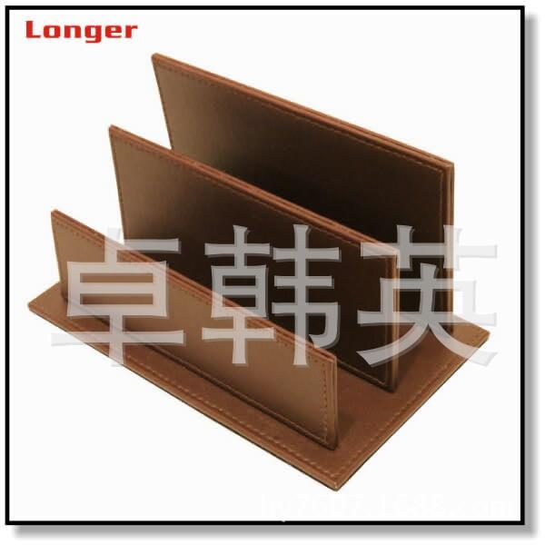 厂家批量生产供应   时尚皮质名片纸   皮革办公收纳  LG8082