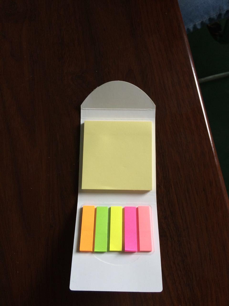 定制小巧可爱造型记事贴 便利贴 N次贴 便签本 胶性强 可反复粘贴