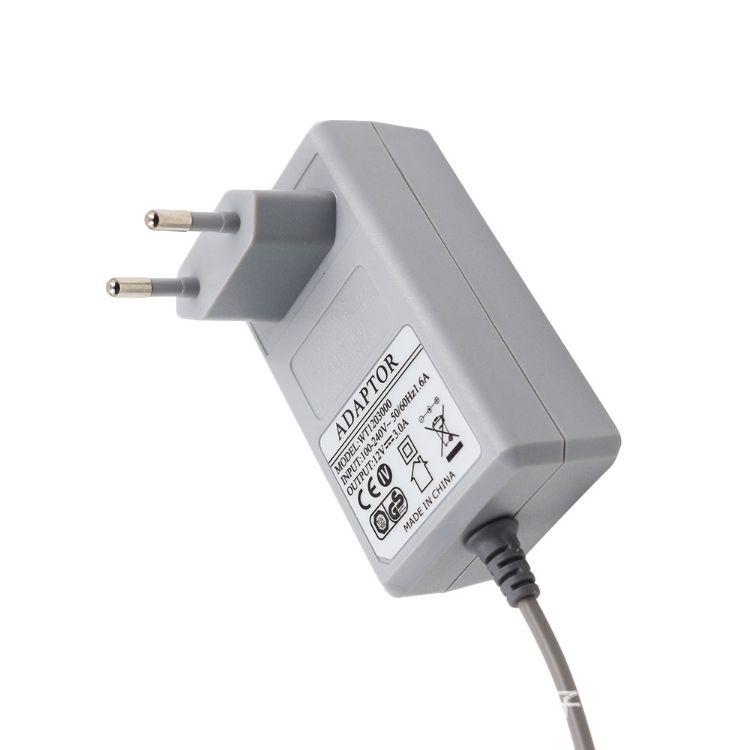 文通厂家供应15V2.4储能电源适配器,欧规GS、CE等认证全齐电源厂