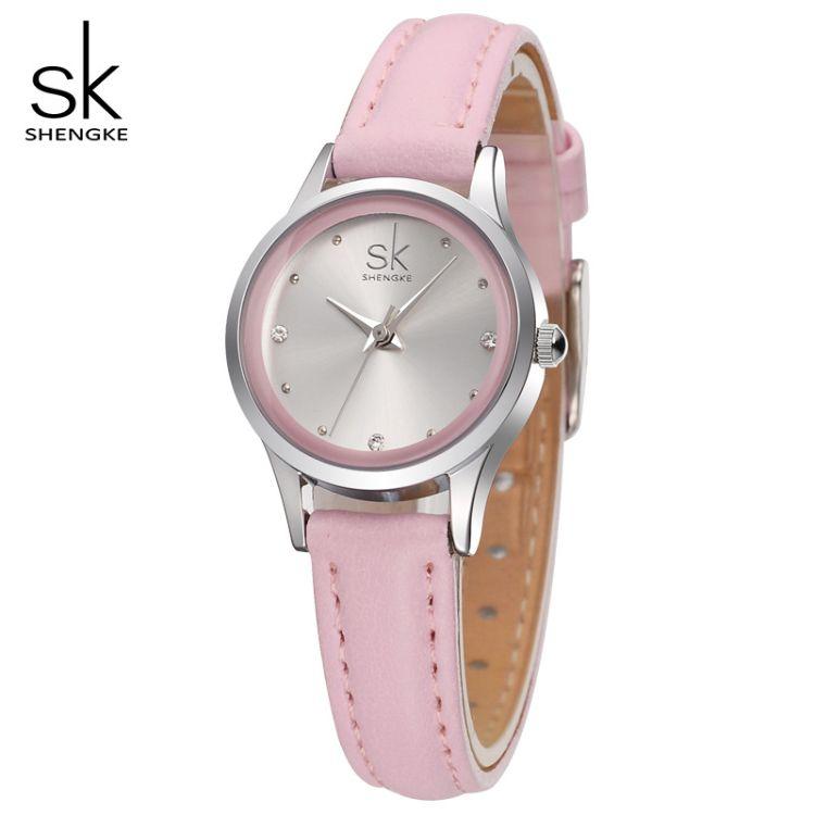 SK胜刻K0008手表休闲女表时尚女表皮带腕表手表石英表