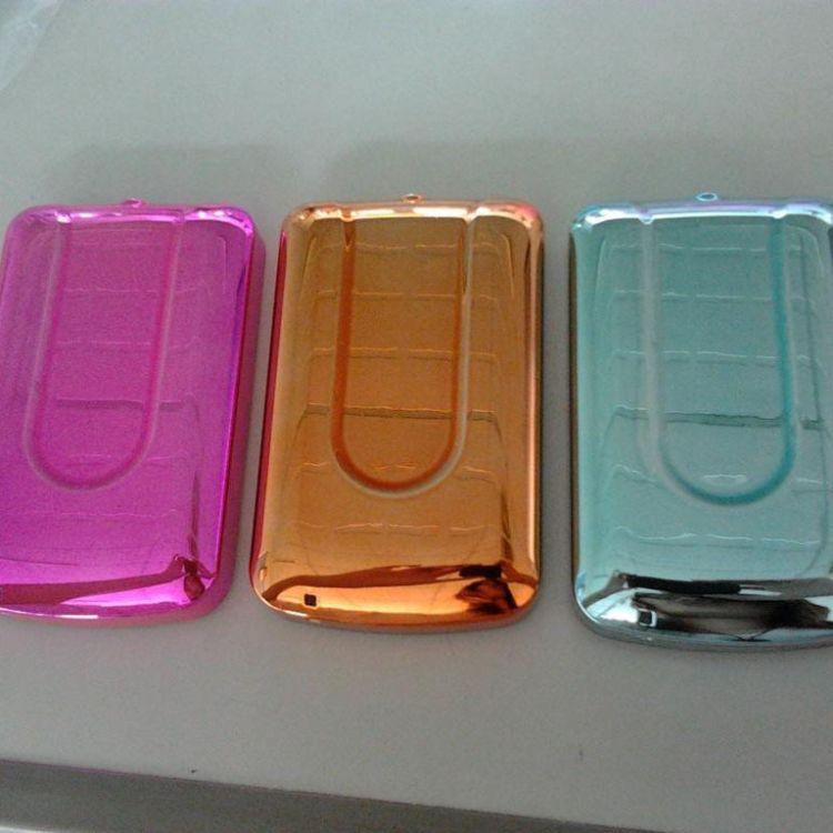 电器配件表处理 塑胶电镀 真空塑料电镀加工厂 UV彩色加工香槟金