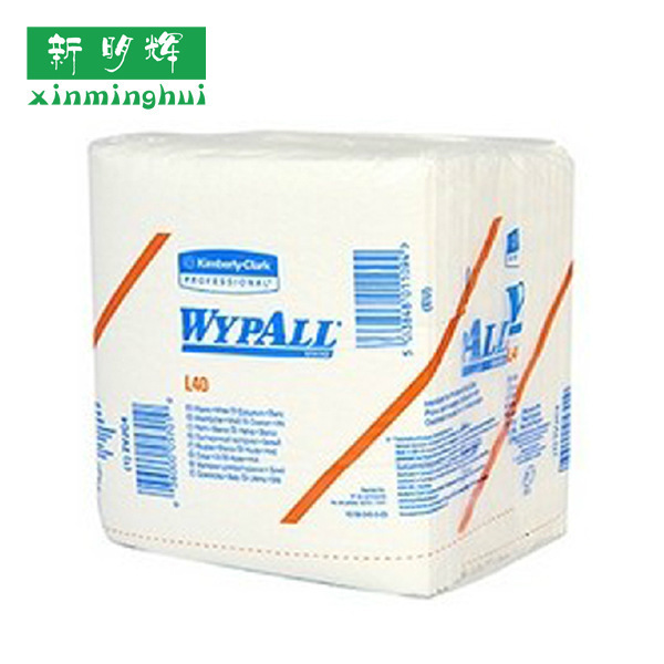 金佰利05701WYPALLL40工业擦拭纸折叠式干湿强度高不易破损