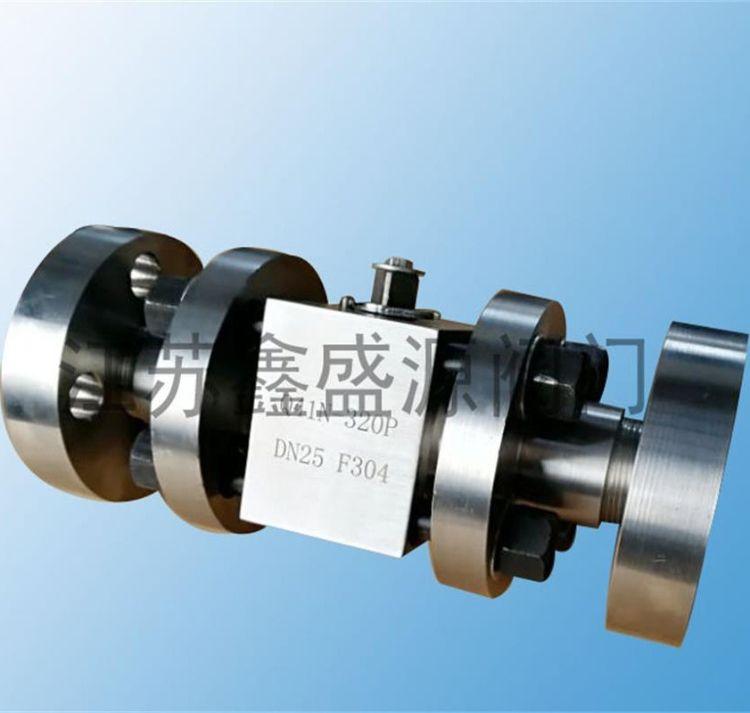 鑫盛源厂家现货-Q41N法兰式硬密封高压球阀-CNG不锈钢高压球阀