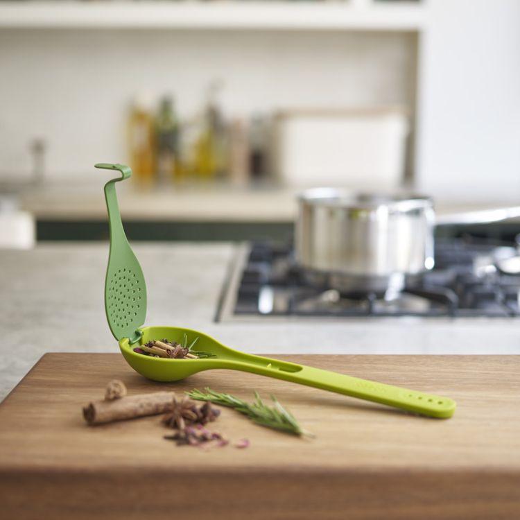厨房创意调味料汤勺/带盖勺子 多功能汤勺
