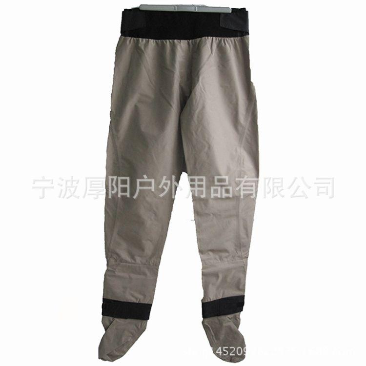 户外钓鱼裤成人透气腰裤防水透气下水裤带潜水料袜套半身钓鱼服