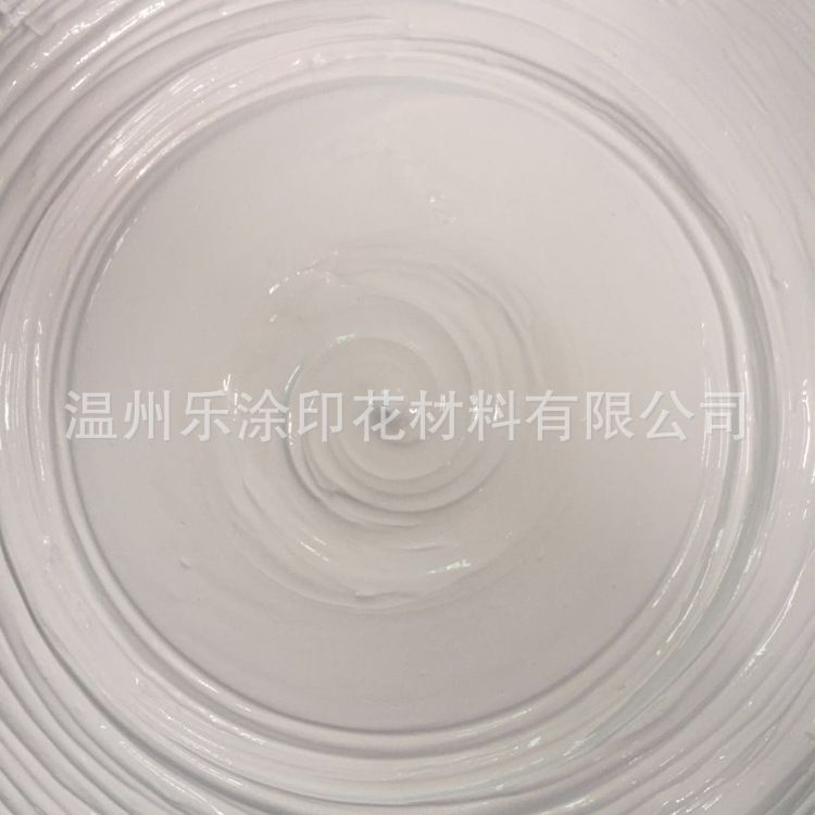 80-100目丝网版罩印白浆(Printing White Paste/Ink)