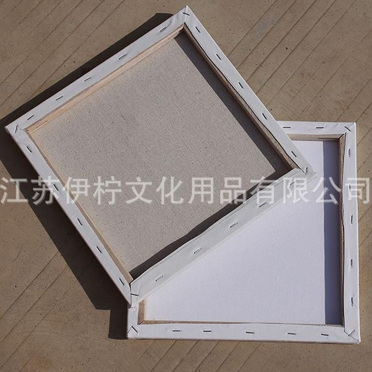 厂家直销 批发纯棉亚麻 写生绘画油画框30*40*50加厚画框 可定制