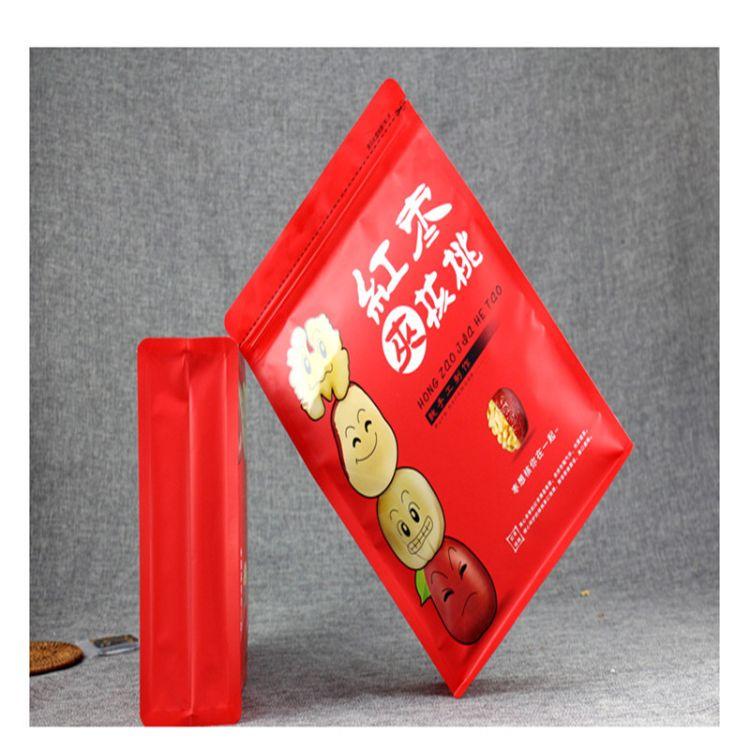 热销八边封枸杞红枣袋自立自封塑料袋坚果茶叶食品包装袋定制