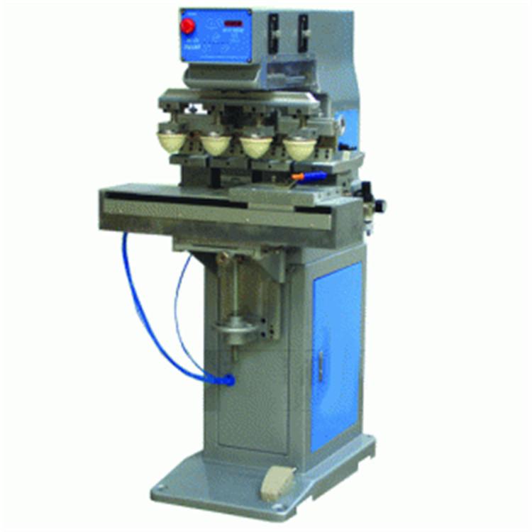 四色移印机销售 骏晖印刷机械 转盘式四色移印机厂家 制造企业