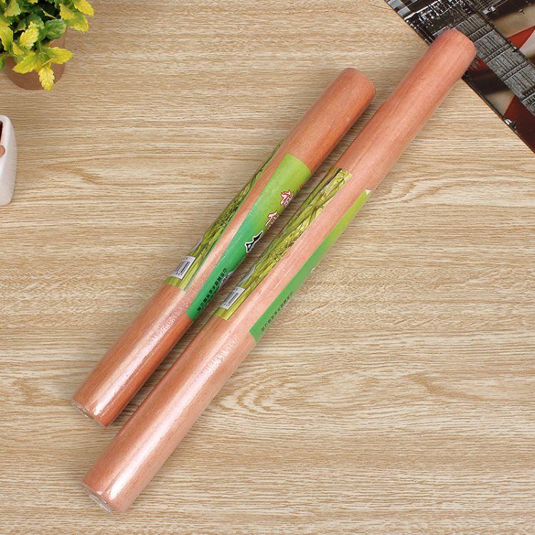 厂家直销2元促销 40公分擀面杖(带包装) 实木面棍 优质面棍