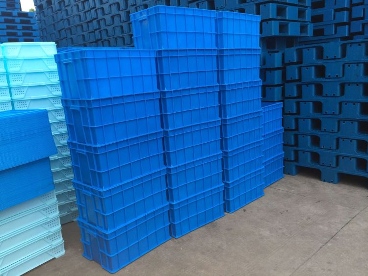575系列箱 加厚塑料周转箱 可堆式塑料周转箱多规格定制 上海物豪