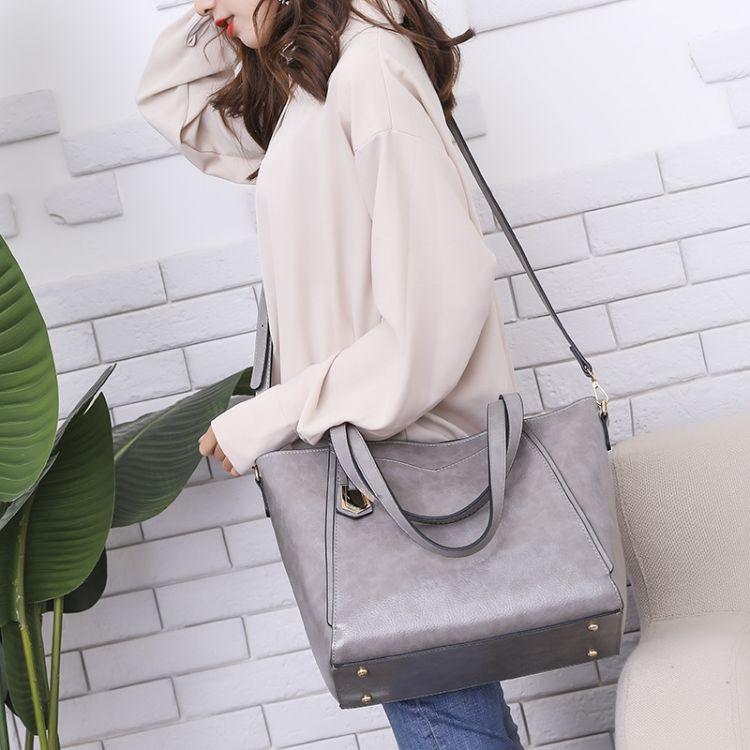 女包2018新款时尚欧美女士单肩包跨境斜跨包外贸女包