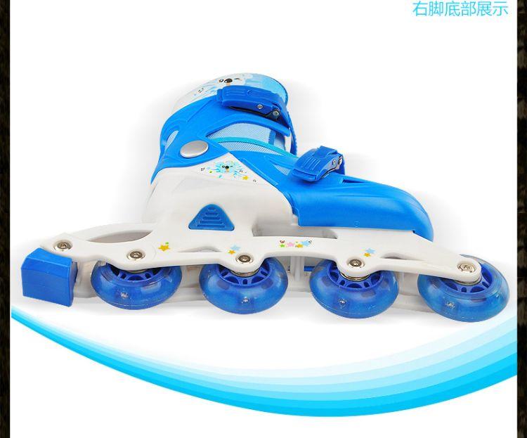 一件代发儿童女溜冰鞋全套旱冰鞋滑冰鞋直排轮滑鞋儿童套装男孩