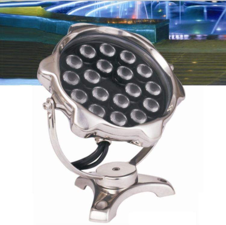 水下灯工厂 全压铸不锈钢水底灯 CREE水下灯 304水下灯
