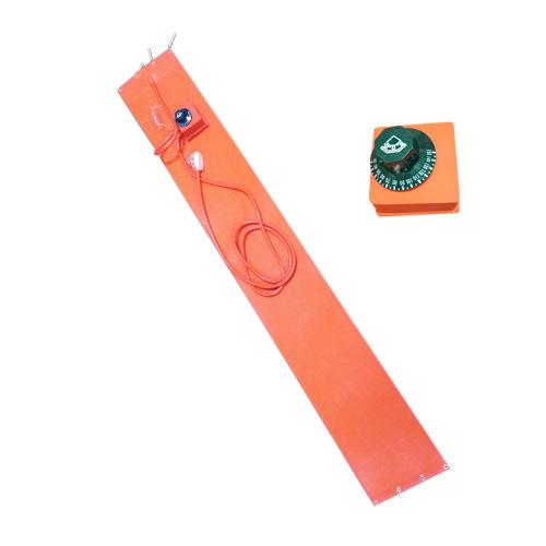 阿里兄弟电发热膜厂家直销90*150*1.5mm可加旋转温控调节硅胶电热膜