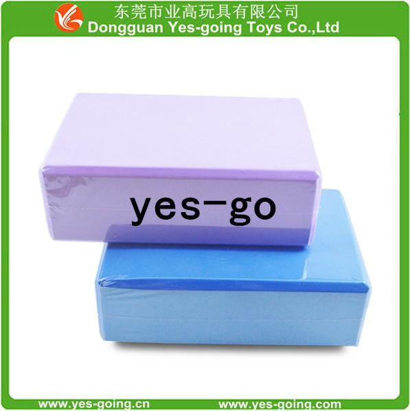 高硬度eva瑜伽砖 彩色PE瑜伽砖 单双面印刷ogo 优质纯色外销砖