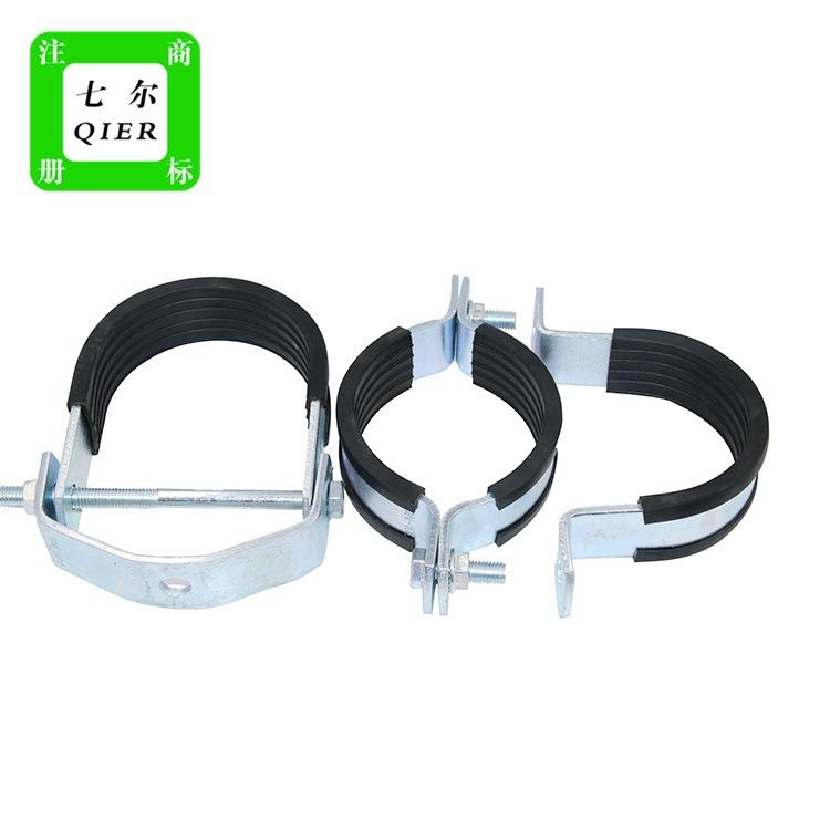 供应欧姆管夹欧姆管卡各种抗震支架配件悬吊管夹品质可靠