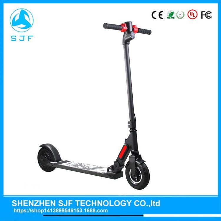 工厂货源 OEM折叠电动滑板车两轮电动车成人滑板车scooter
