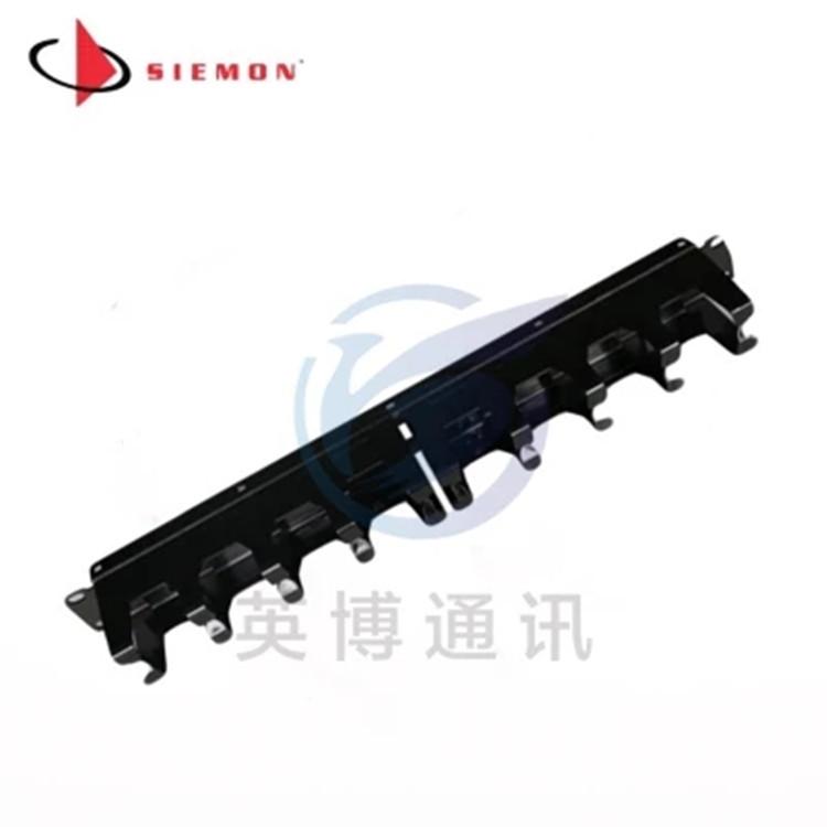 原装西蒙1U机柜配线架水平理线器SIEMON网络理线架 S110-RWM-01