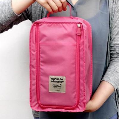 韩版 旅行收纳用品防水鞋袋便携式鞋盒 收纳袋