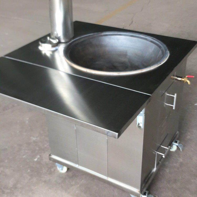 现货多规格可选柴火灶 厂家直供高质量不易生锈家用不锈钢柴火灶