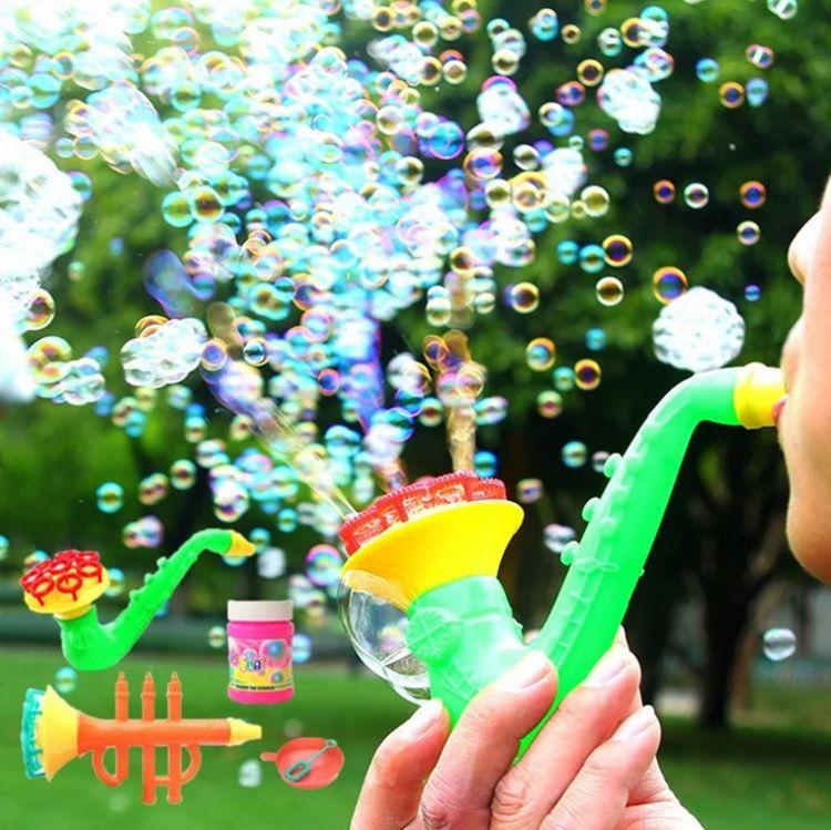 新款多头乐器泡泡枪 吹泡泡棒萨克斯造型吹泡泡玩具儿童玩具批发