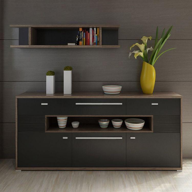 餐边柜现代简约储物柜收纳柜简易茶水柜厨房置物柜子碗柜酒柜边柜