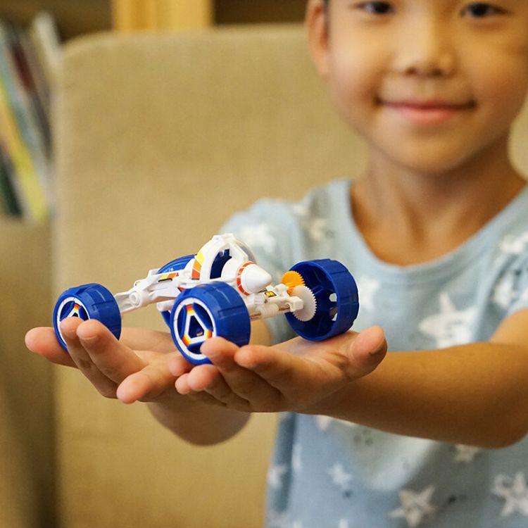 儿童科学启智DIY玩具盐水动力越野车模型拼装组装亲子互动6岁以上