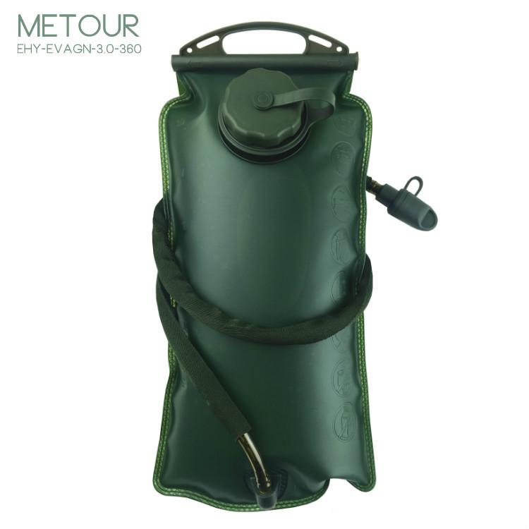 水袋内胆3l军绿色eva水袋野战术水袋户外运动饮用水袋折叠水袋环