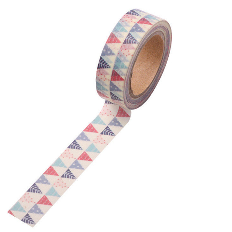 创意 清新卡通 手撕 和纸胶带 装饰小胶带 DIY彩色胶带手账胶带