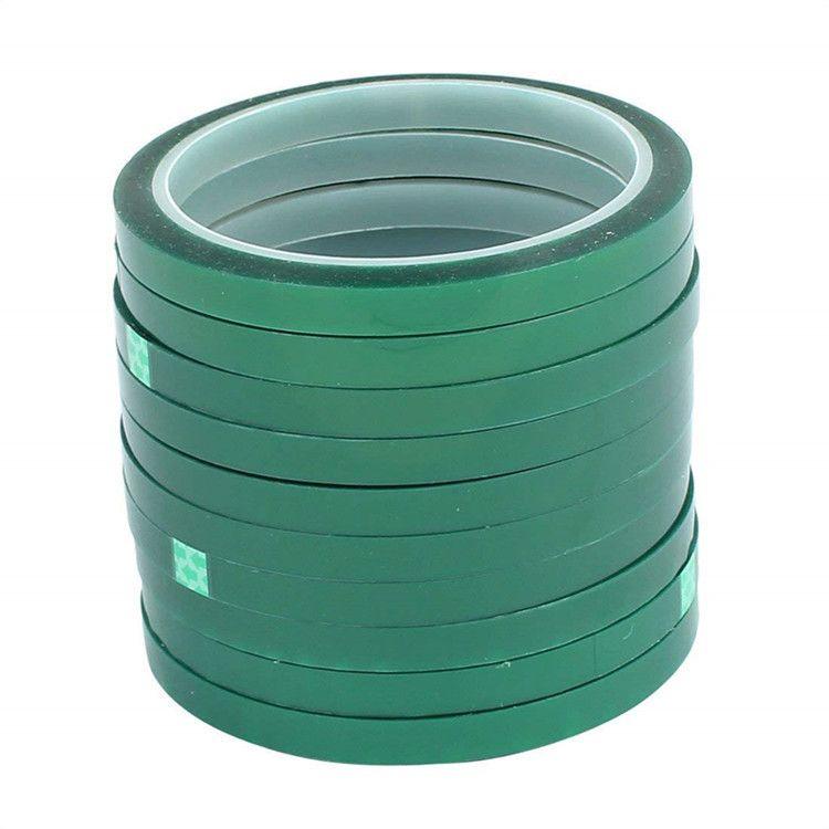 九斯盟专业生产 防火pet绿色冰箱胶带 单面pet 绿色终止胶带