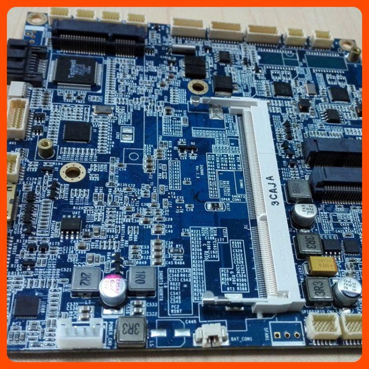Intel四核6USB 微型工控母板 可定制开发12*12迷你工控主板