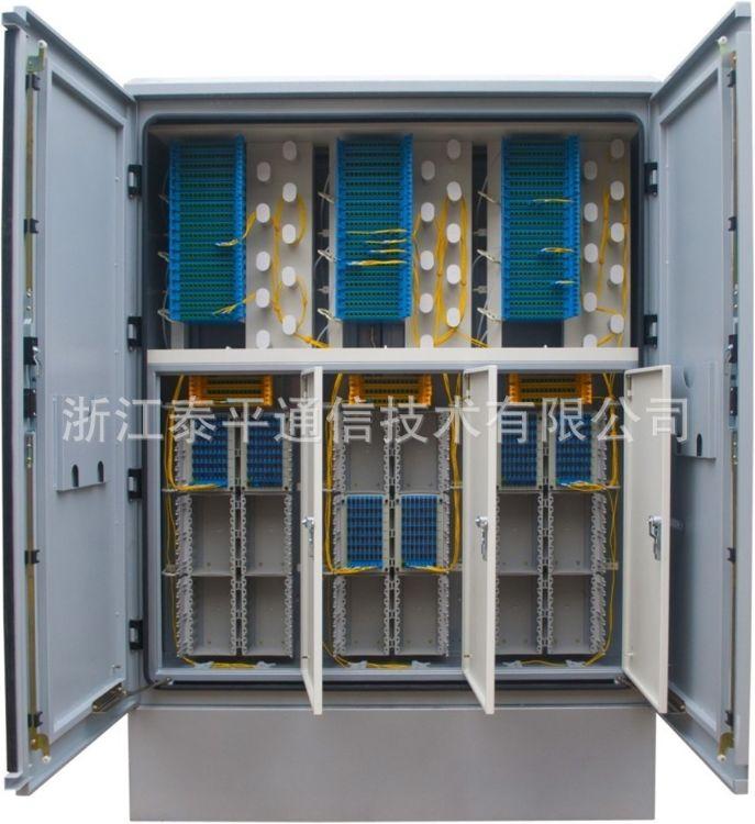 三网合一(融合)户外共建共享光缆交接箱,通信ODF光纤机柜厂家
