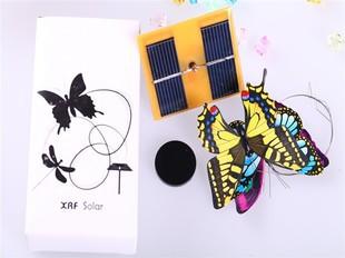 新款太阳能益智科教仿生玩具DIY蝴蝶节能环保儿童礼物太阳能玩具