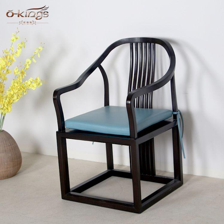 古典中式椅子 餐厅实上海实木餐椅 酒店餐厅家具 上海定制家具
