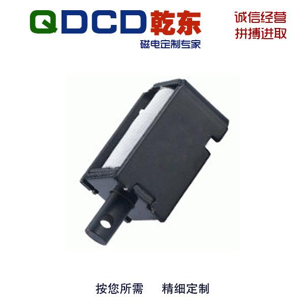 厂家直销 QDU0630L 圆管框架推拉保持直流电磁铁 可非标定制