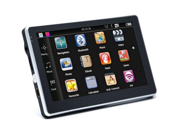 5寸便携式GPS导航仪 车载导航仪 汽车导航仪 外贸出口欧洲贸易