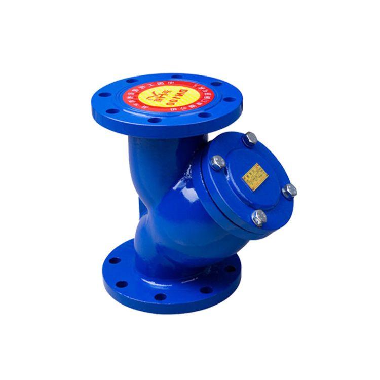 专业供应铸铁过滤器 球墨铸铁表前过滤器 污水过滤器