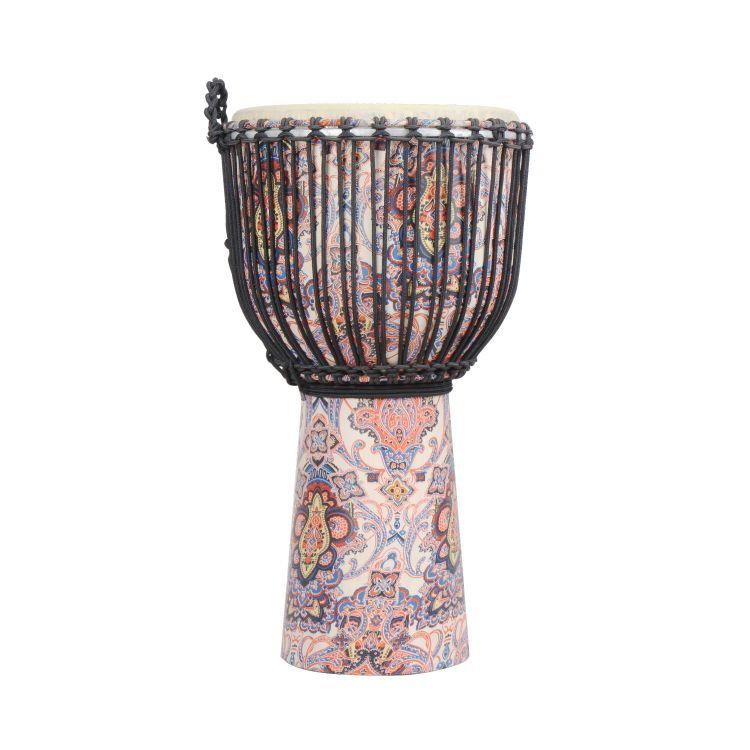 【厂家直销】非洲手鼓小10寸原产山羊皮手工非洲鼓漆木