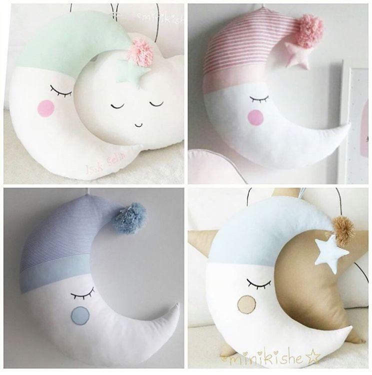 ins爆款月亮安抚抱枕宝宝儿童抱着睡觉道具喂奶枕批发