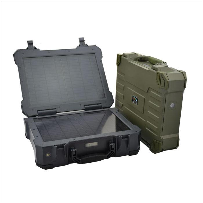 SDX-PS20W太阳能防水便携发电系统军用野营钓鱼边防岗哨巡逻
