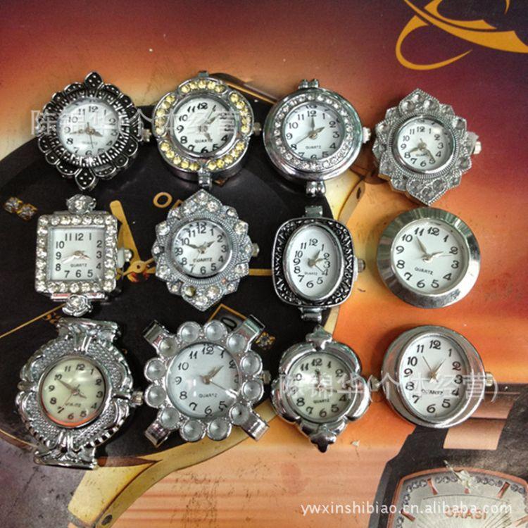 合金点钻表头机芯 厂家批发石英手链表工艺饰品手表配件